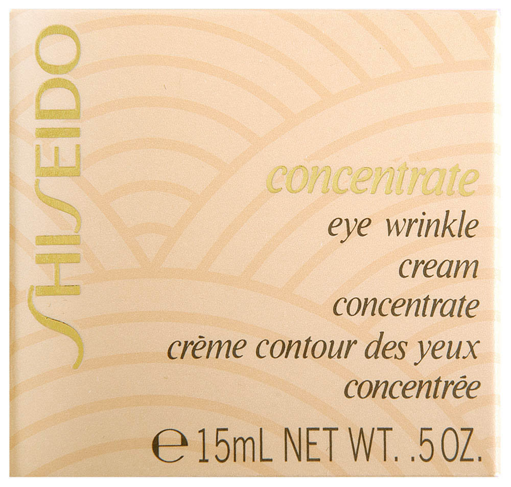 Shiseido Concentrate Eye Wrinkle Cream Augencreme