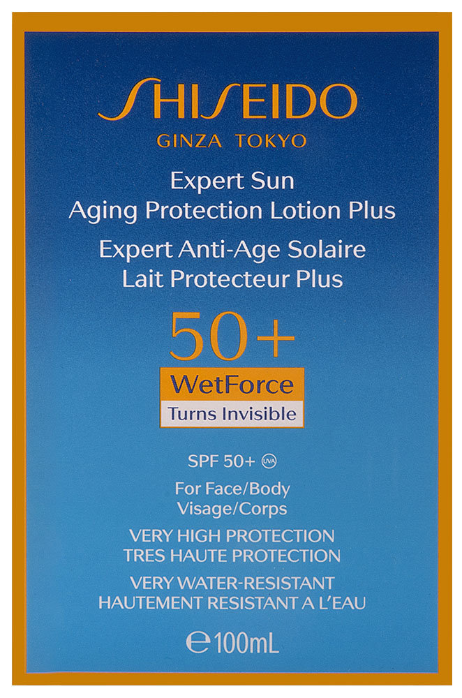 Shiseido Expert Sun Aging Protection Lotion Plus WetForce SPF 50+