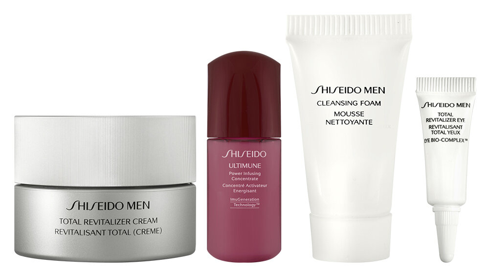 Shiseido Men Total Revitalizer Geschenkset