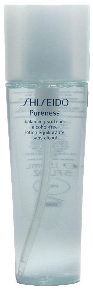 shiseido pureness balancing softener alcohol free. Black Bedroom Furniture Sets. Home Design Ideas