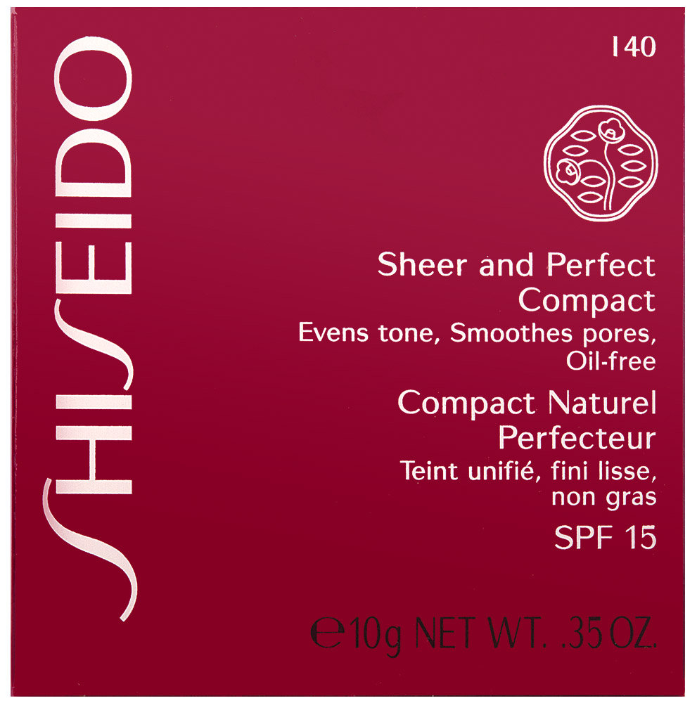 Shiseido Sheer and Perfect Compact Puder SPF 15