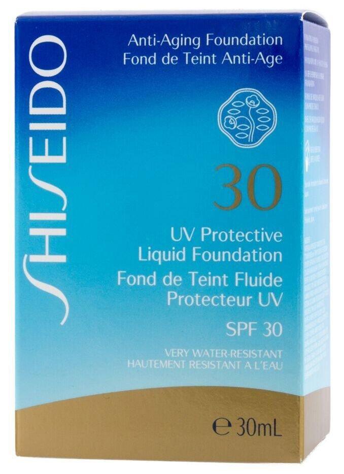 Shiseido UV Protective Liquid Foundation SPF30