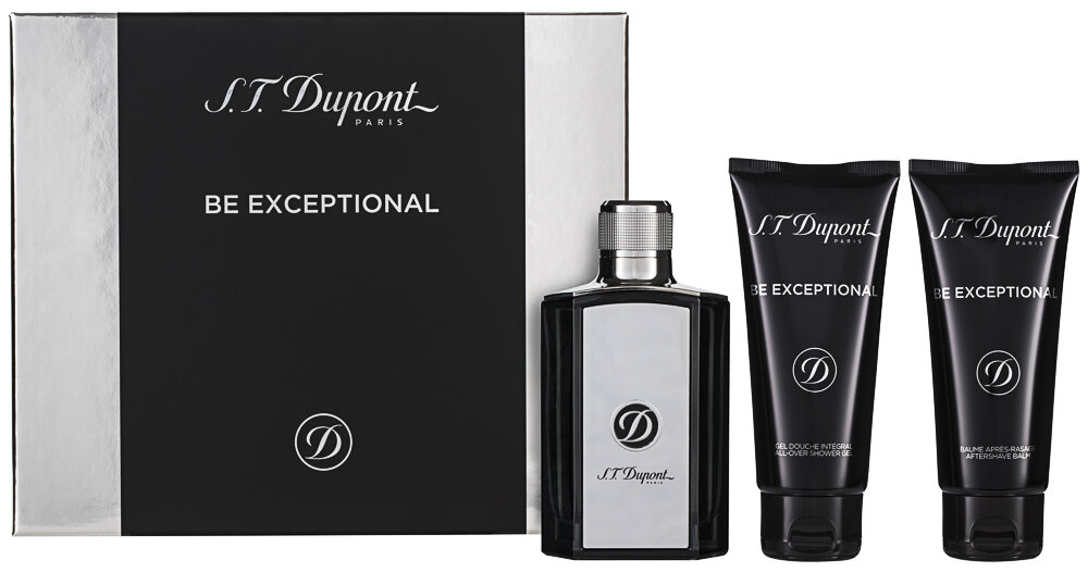 S.T. Dupont Be Exceptional EDT Geschenkset
