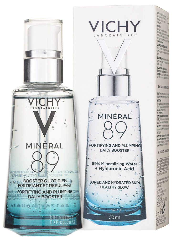 Vichy Mineral 89 Elixier Fortifying and Plumping Daily Booster Gesichtsserum