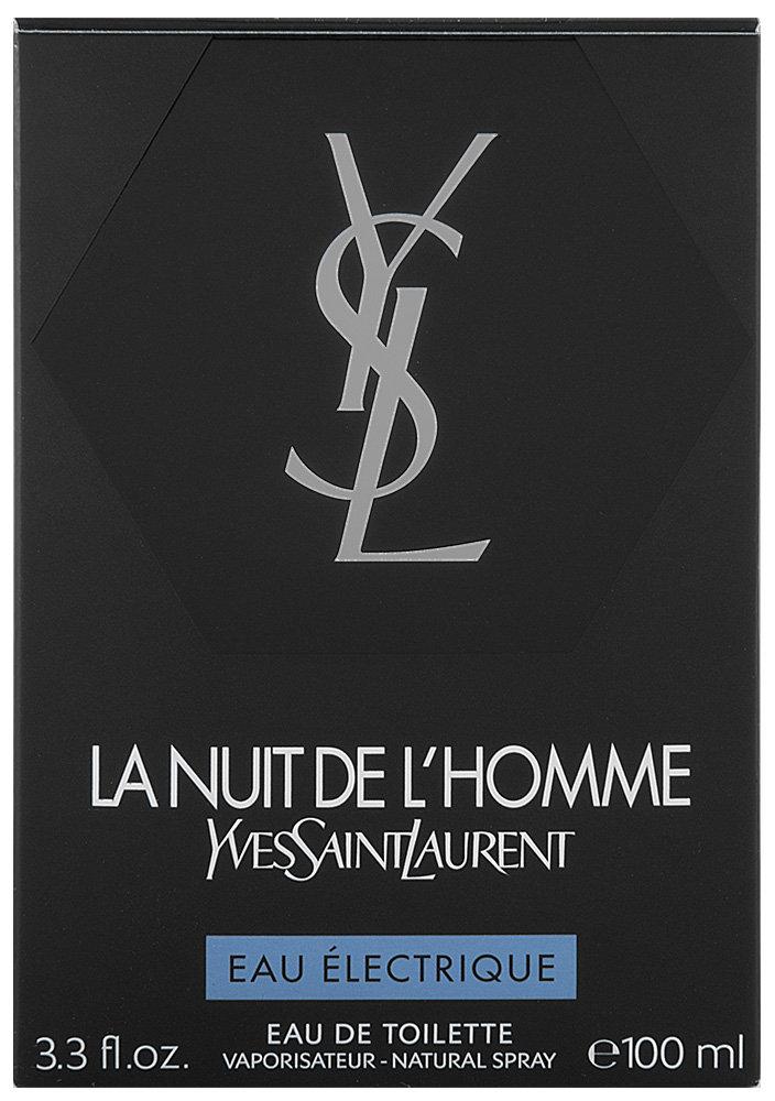 Yves Saint Laurent La Nuit De L`Homme Eau Électrique Eau de Toilette