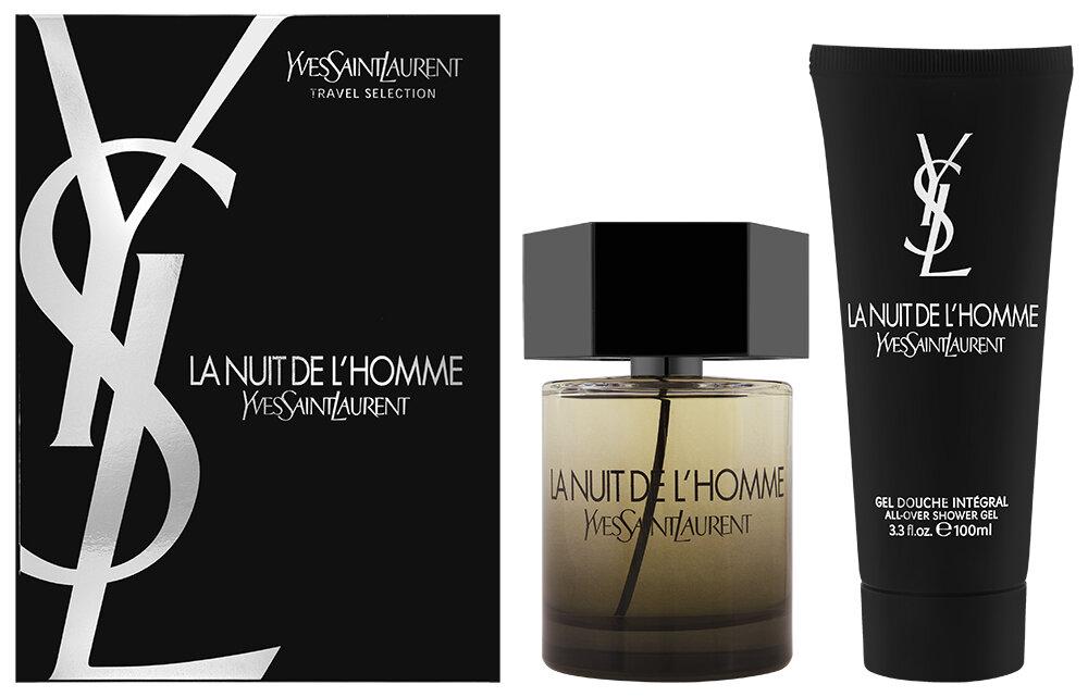 Yves Saint Laurent La Nuit De L`Homme EDT Geschenkset