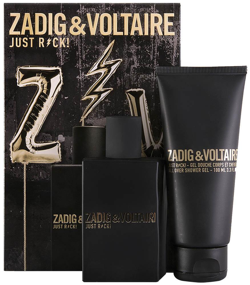 Zadig & Voltaire Just Rock! for Him Geschenkset