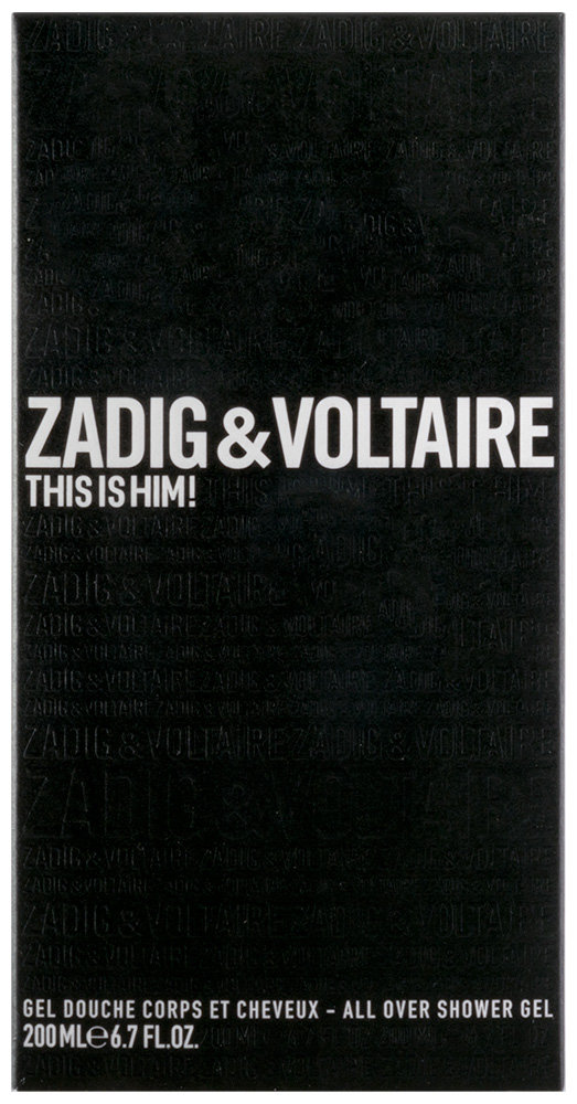 Zadig & Voltaire This is Him Duschgel