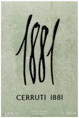 Cerruti 1881 Pour Homme After Shave Lotion