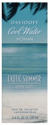 Davidoff Cool Water Woman Exotic Summer Eau de Toilette