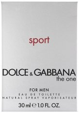 Dolce & Gabbana The One Sport Eau de Toilette