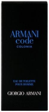 Giorgio Armani Code Colonia Eau de Cologne