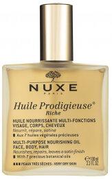 NUXE Huile Prodigieuse Riche Multi Purpose Nourishing Oil Very Dry Skin