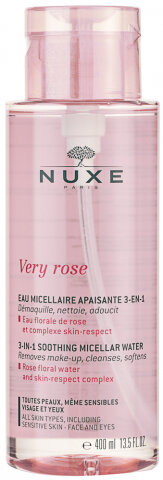 NUXE Very Rose 3 In 1 Soothing Mizellenwasser