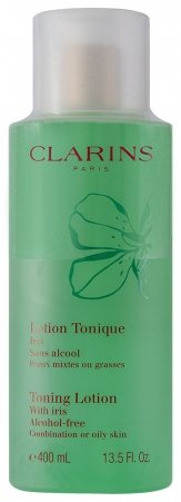 Clarins Toning Lotion With Iris Alcohol free