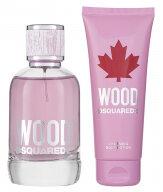DSquared2 Wood Pour Femme EDT Geschenkset