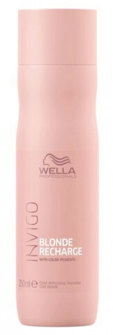 Wella Professionals Invigo Blonde Recharge Color Refreshing Shampoo