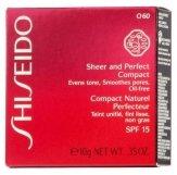 Shiseido Sheer and Perfect Foundation SPF 15