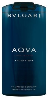 Bvlgari Aqva pour Homme Atlantiqve Shampoo & Shower Gel