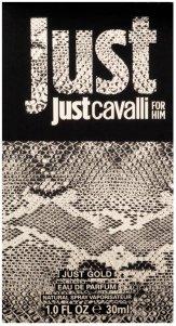 Roberto Cavalli Just Cavalli Gold for Him Eau De Parfum