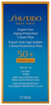 Shiseido Expert Sun Aging Protection Cream Plus SPF 50+