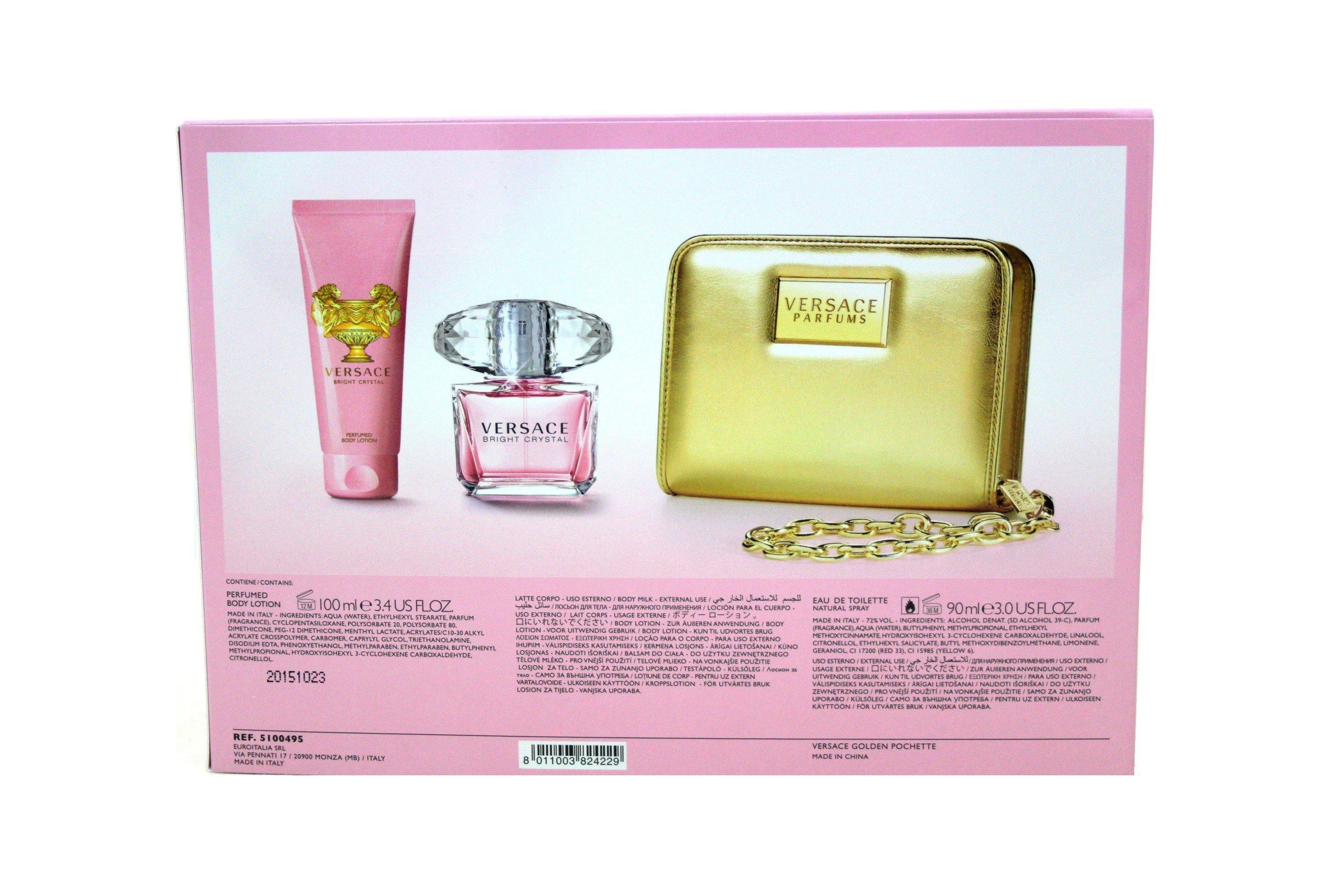 Versace Bright Crystal Geschenkset