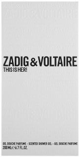 Zadig & Voltaire This is Her Shower Gel