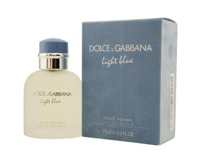 dolce gabbana light blue eau de toilette edt f r m nner. Black Bedroom Furniture Sets. Home Design Ideas