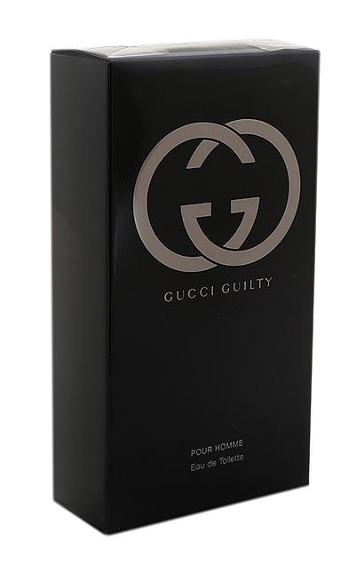 gucci guilty pour homme eau de toilette edt f r m nner von. Black Bedroom Furniture Sets. Home Design Ideas