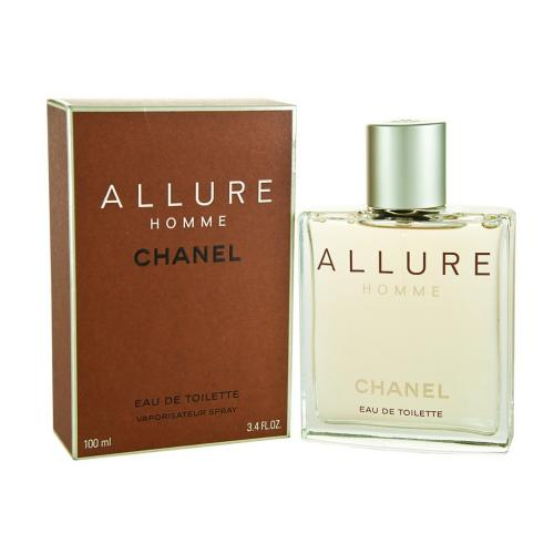 chanel allure pour homme eau de toilette edt f r m nner. Black Bedroom Furniture Sets. Home Design Ideas