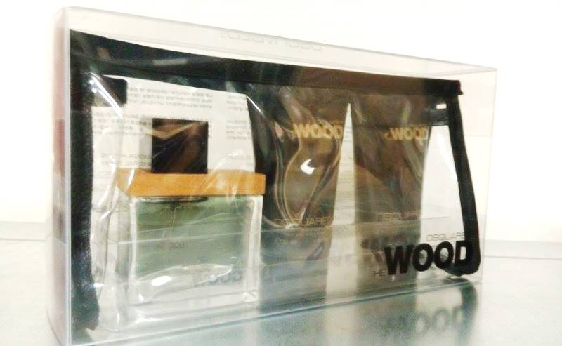 Dsquared He Wood Gift Set