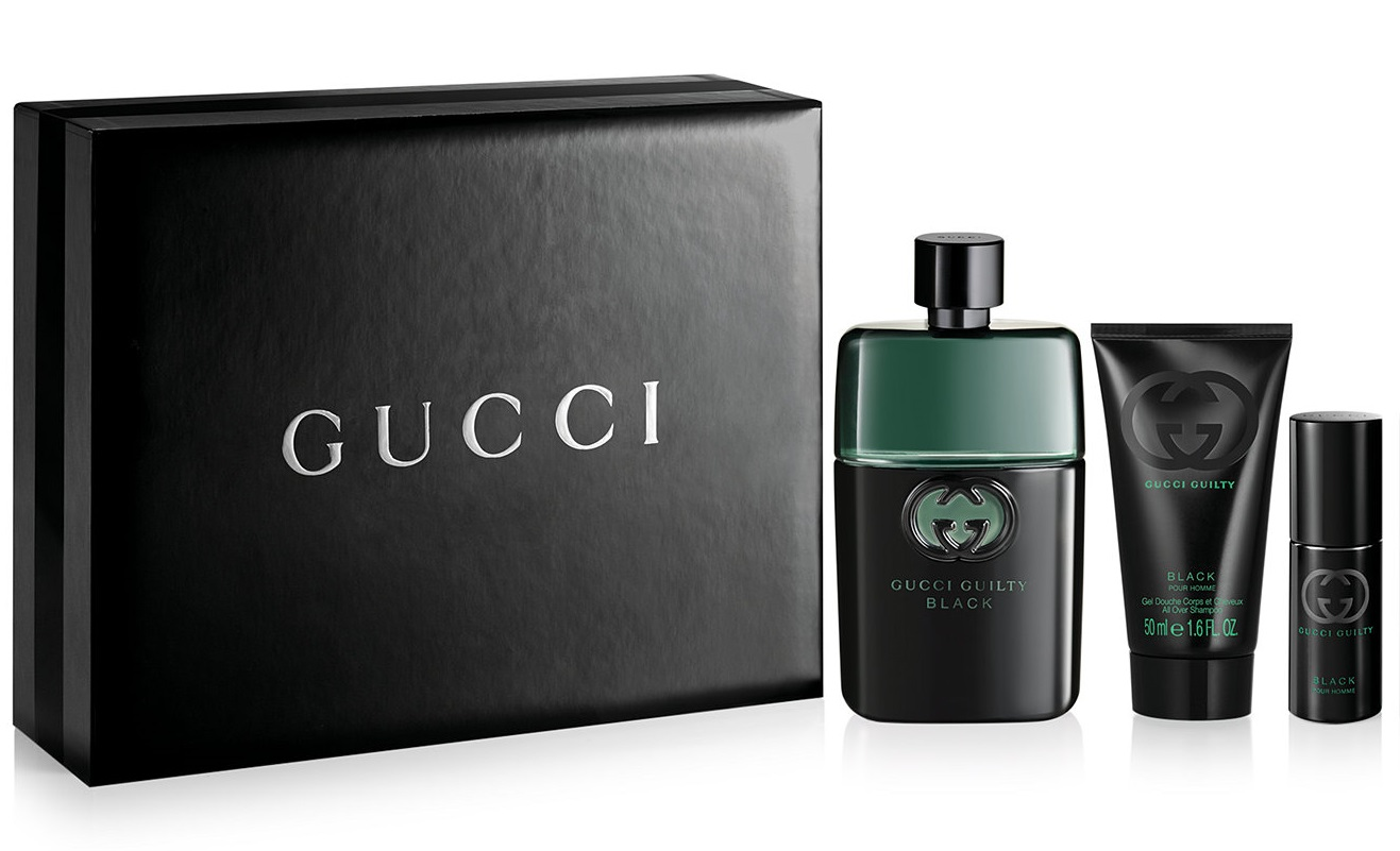 Gucci Guilty Black Pour Homme Gift Set