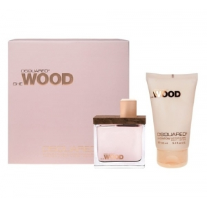 Dsquared She Wood Gift Set