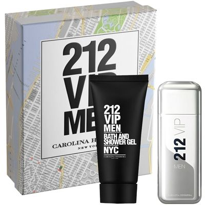 Carolina Herrera 212 VIP Men Gift Set Box