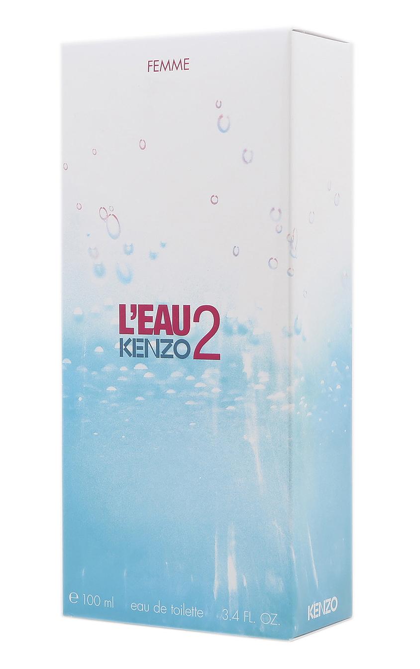 Kenzo l eau 2 kenzo pour femme eau de toilette edt f r - L eau des toilettes remonte ...