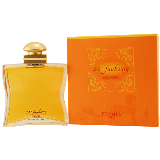 hermes 24 faubourg eau de toilette edt f r frauen von hermes. Black Bedroom Furniture Sets. Home Design Ideas