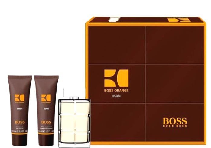 Hugo Boss Orange Gift Set Pour Homme