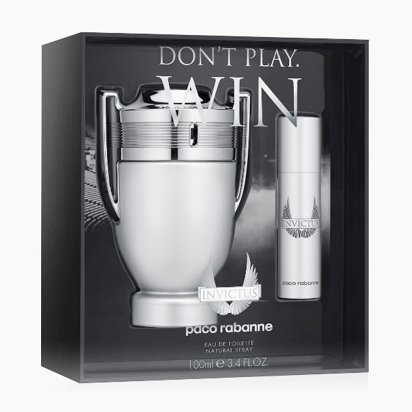 Paco Rabanne Invictus Silver Cup Collector's Edition Gift Set