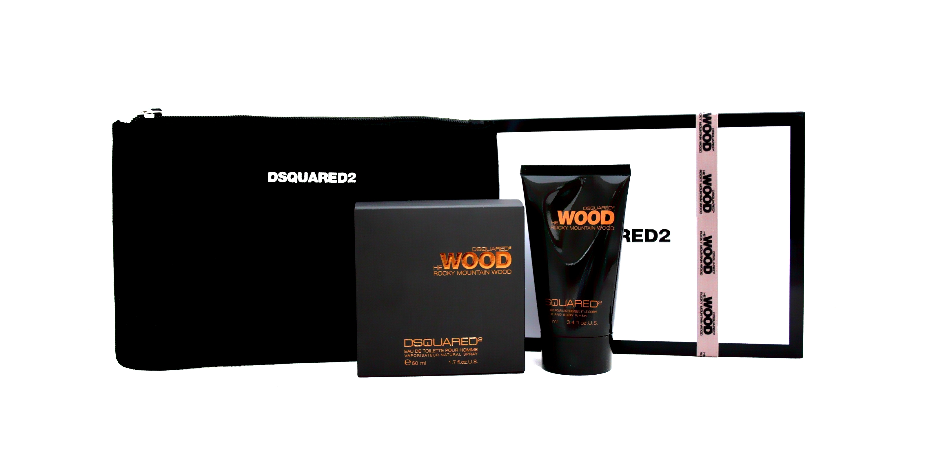 Dsquared 2 He Wood Rocky Mountain Gift Set