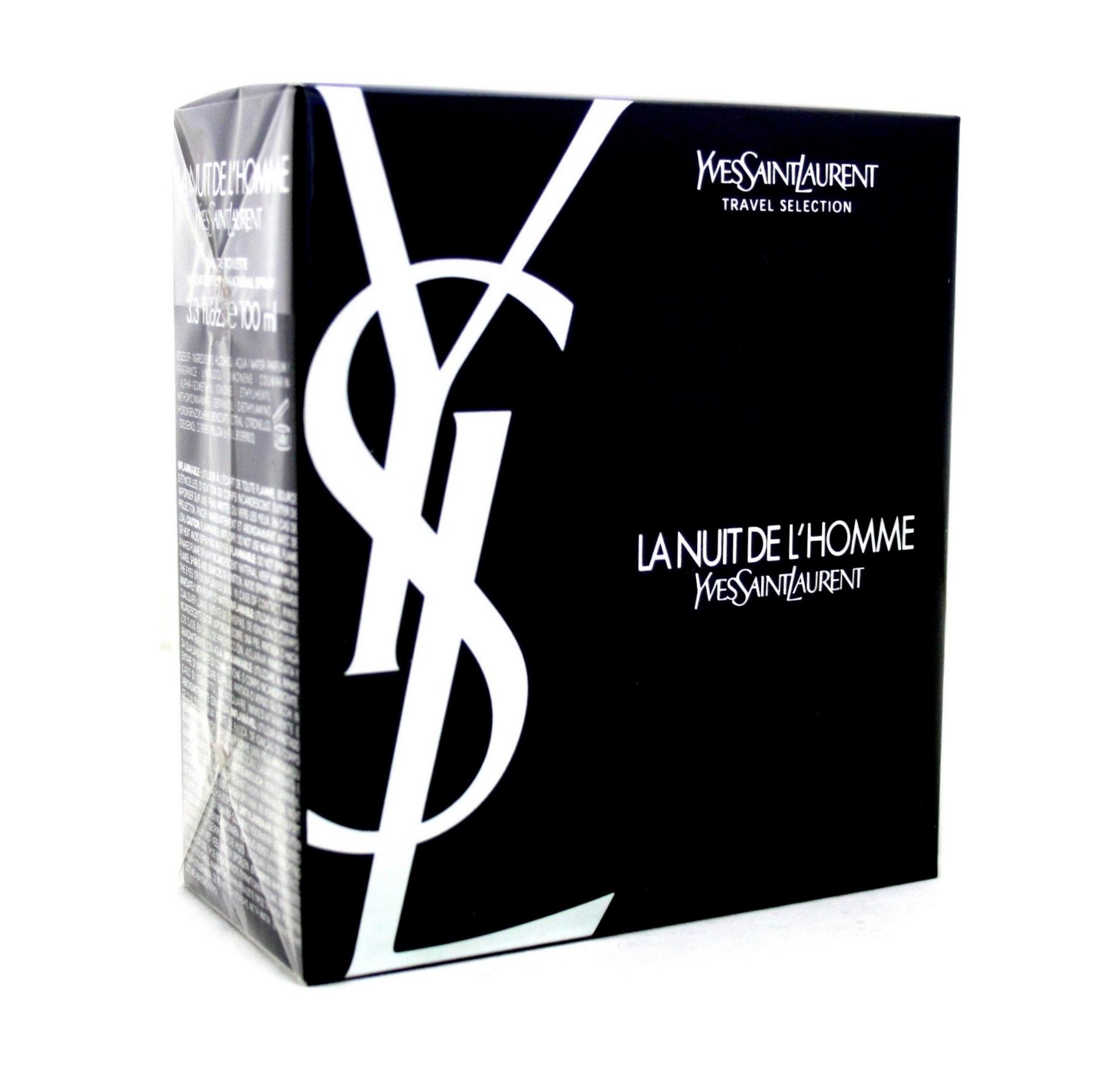 Yves Saint Laurent La Nuit De L Homme Gift Set