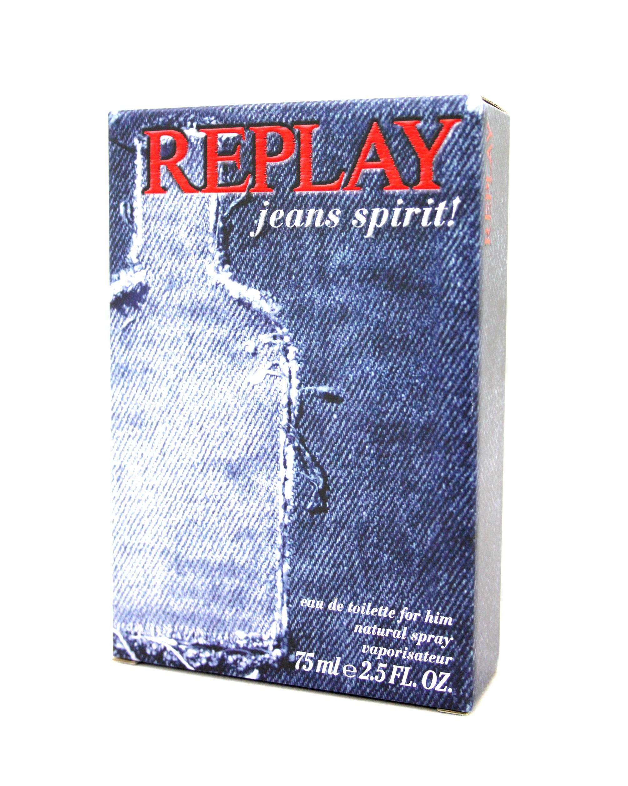Replay Jeans Spirit! for Him Eau de Toilette