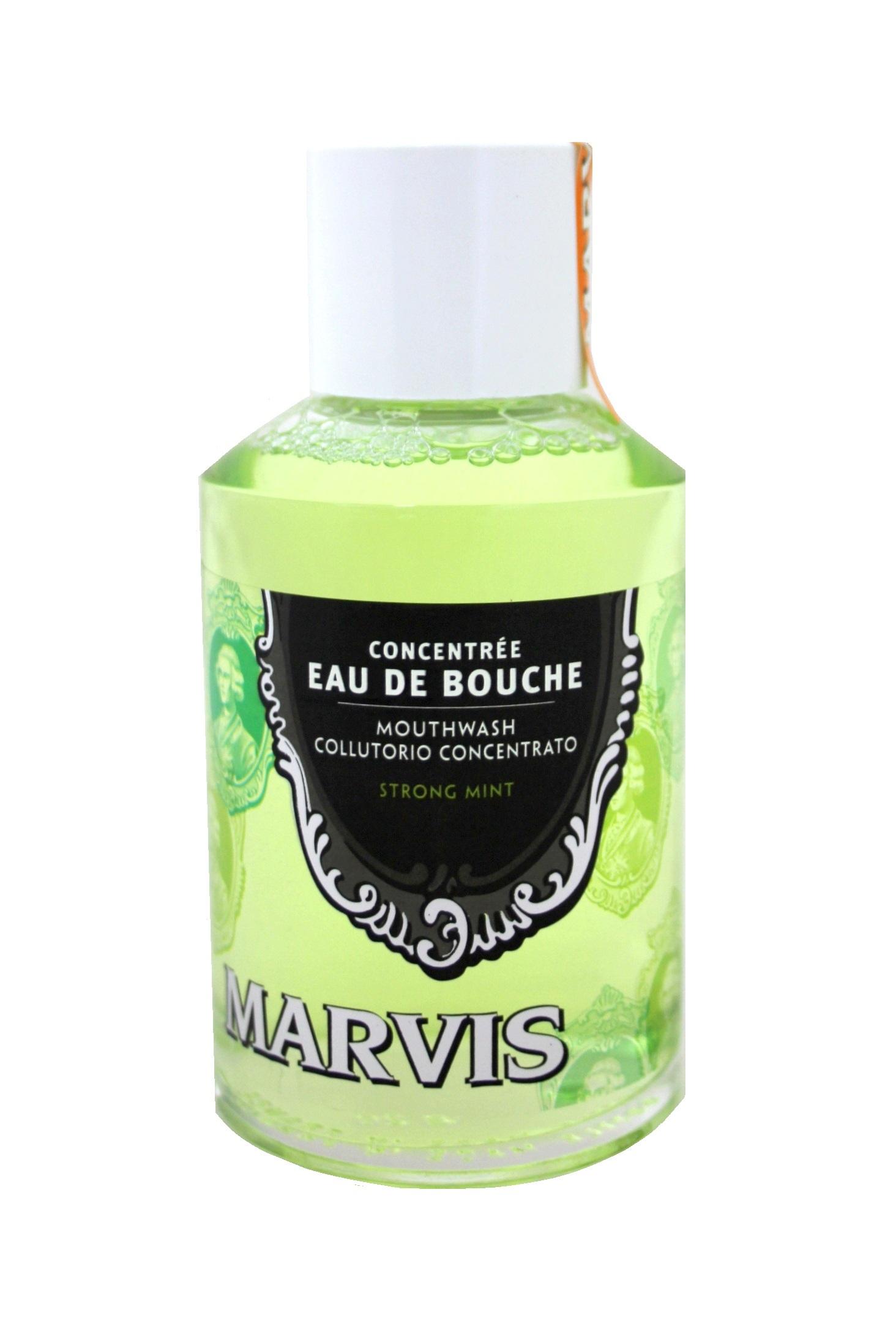 Marvis Eau de Bouche Mouthwash Strong Mint