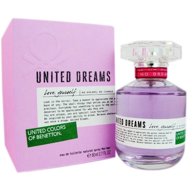Benetton United Dreams Love Yourself Eau de Toilette