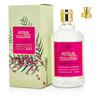 Maurer & Wirtz 4711 Acqua Colonia Pink Pepper & Grapefruit Eau de Cologne