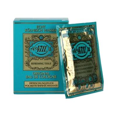 Maurer & Wirtz 4711 Original Eau De Cologne Refreshing Tissue