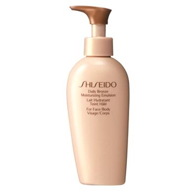 Shiseido Daily Bronze Moisturising Emulsion