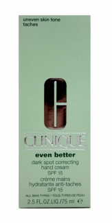Clinique Even Better Dark Spot Correcting Hand Cream SPF15