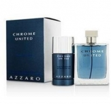 Azzaro Chrome United Gift Set