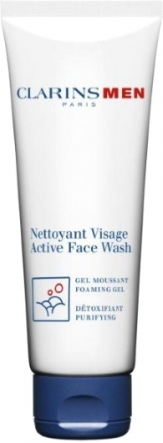 Clarins Men Active Face Wash Foaming Gel