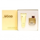 DSquared Golden Light Wood Gift Set
